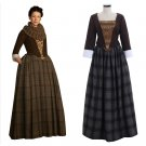 TV series Outlander Women's Costume Jenny Fraser Murray Dress Costume For Halloween Party Cosplay