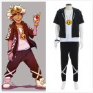 CosplayDiy Pokemon Sun And Moon Guzma Team Skull Leader Cosplay Costume