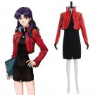 Neon Genesis Evangelion Katsuragi Misato Cosplay Costume Women's Costume For Party