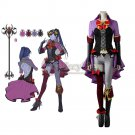 2017 Game Overwatch  Widowmaker Amelie Lacroix Cospay Costume Women's Cosplay Dress