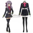 CosplayDiy Seraph Of The End Hiiragi Shinoa Cosplay Costume Women's&Girl's Cosplay Costume For Party
