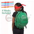 New Ninja Turtles Cosplay Backpacks Students' Shoulder Bags With Masks For Cosplay