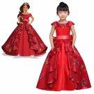 Kid's Dress Cosplay Princess Elena Red Dress Princess Dress Party Cosplay Costume