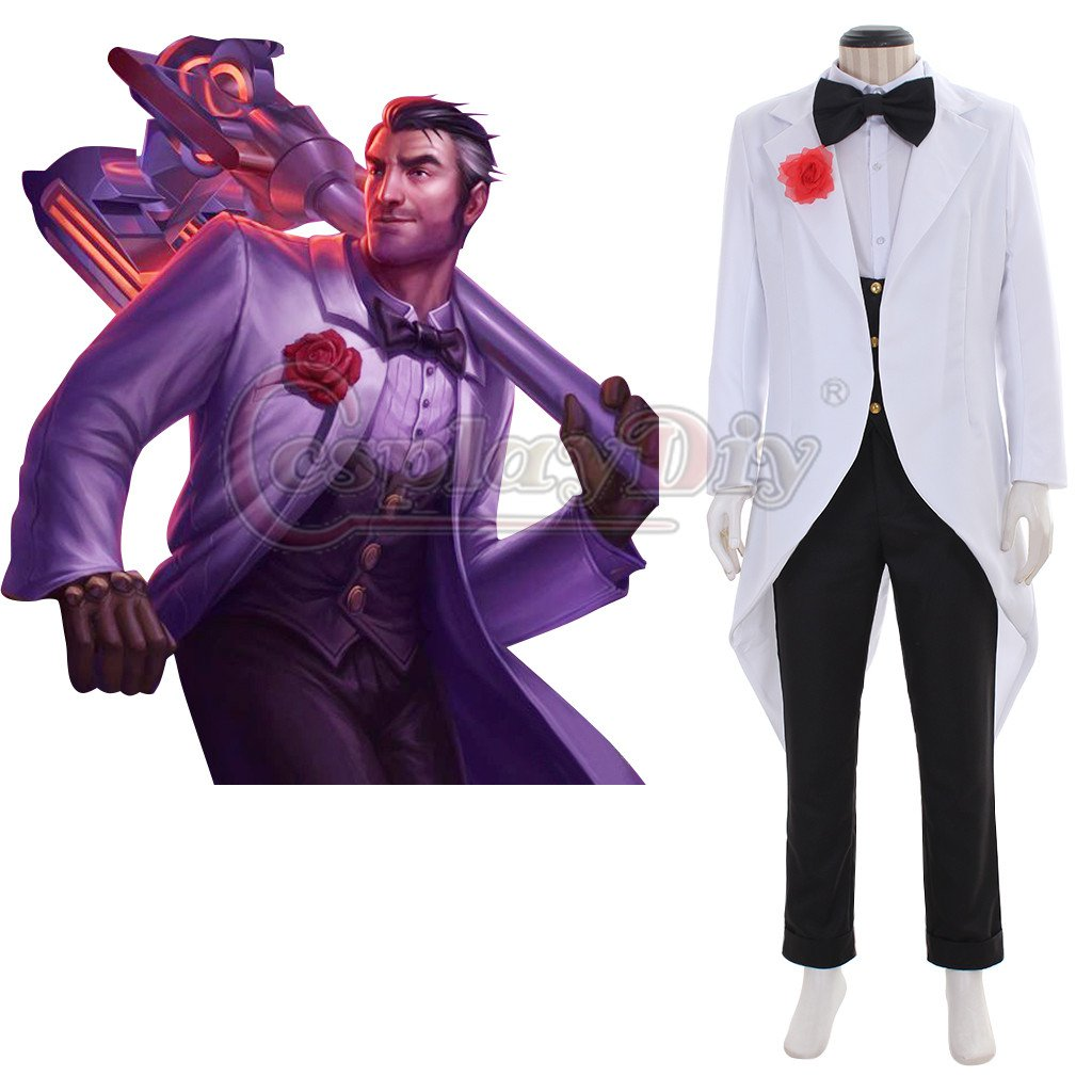 Custom Made League of Legends LOL Jayce Cosplay Costume Men Cosplay Costume For Halloween Party  sc 1 st  CosplayDiy - eCRATER & Custom Made League of Legends LOL Jayce Cosplay Costume Men Cosplay ...