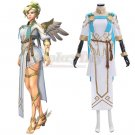 CosplayDiy Overwatch OW Summer Games 2017 Winged Victory Mercy Skin Cosplay Costume