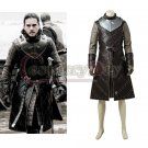 Custom Made Game of Thrones Season 7 Jon Snow Cosplay Costume Men's Party Cosplay Costume