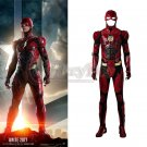 Justice League The Flash Barry Allen Cosplay Costume Men's Complete Outfit
