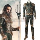 Justice League Aquaman Arthur Curry Cosplay Costume Men's Party Cosplay Costume