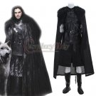 Customized Game of Thrones Jon Snow Cosplay Costume Men's Party Cosplay Outfit