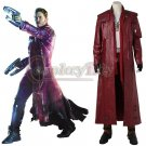 Movie Guardians of the Galaxy Vol. 2 Star-Lord Cosplay Costume Long Version Men's Costume