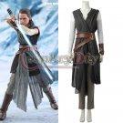 Cosplaydiy Star Wars The Last Jedi Rey Cosplay Costume Women's Halloween/Party Costume