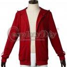 2017 Movie Coco Music Boy Miguel Red Jacket Cosplay Hoodie