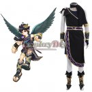 Kid Icarus: Uprising Dark Pit Cosplay Costume Costom Made
