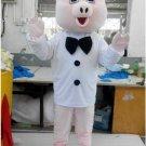 CosplayDiy Unisex Mascot Costume Popular Animal Pink Chef Pig Adult Mascot Costume For Event