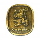 Lowenbrau Vintage Bergamot Brass Belt Buckle