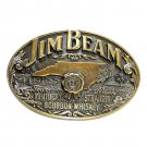 Jim Beam Bourbon Whiskey North Carolina Limited Edition Brass NOS Belt Buckle