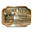 Trainmaster Southern Pacific Rail Solid Bronze NOS Gentleman Belt Buckle