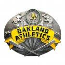 Oakland Athletics Siskiyou Solid Pewter Belt Buckle