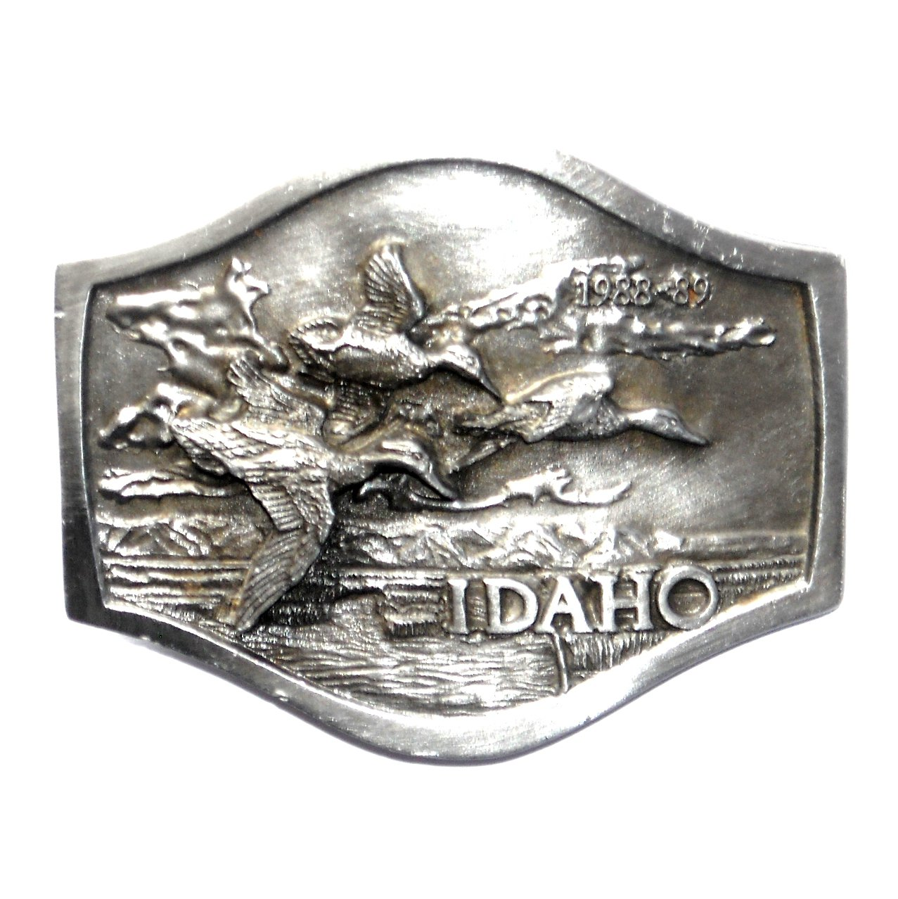 Idaho department fish and game 3d bergamot pewter belt buckle for Idaho dept of fish and game