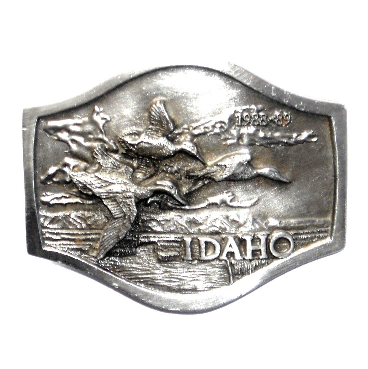 Idaho department fish and game 3d bergamot pewter belt buckle for Idaho department of fish and game