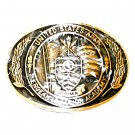 US Army Ultima Sergeants Major Academy Award Design Brass Belt Buckle