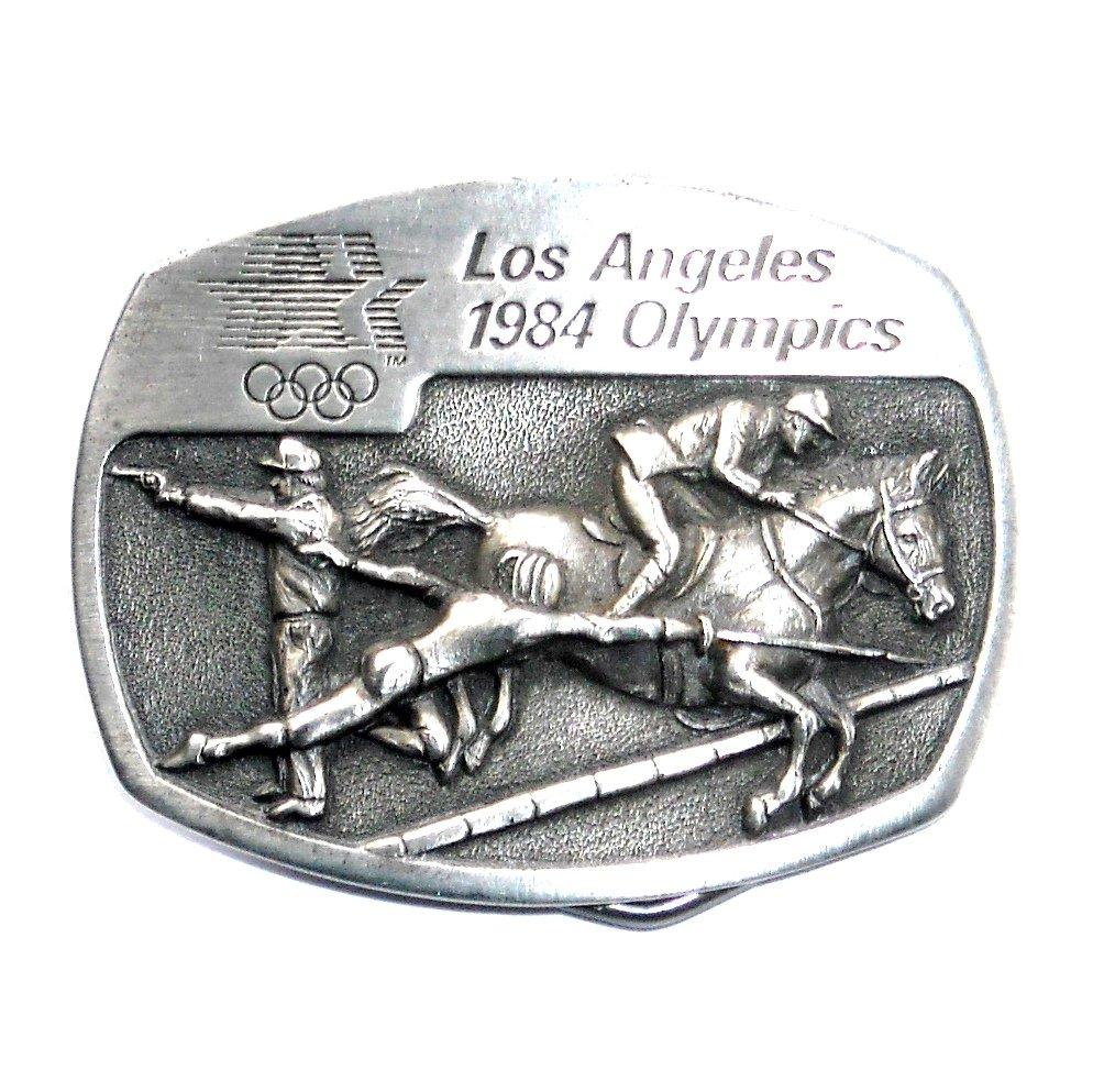 Fencing Equestrian Los Angeles 1984 Olympics Sanchez