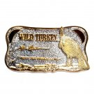 Wild Turkey Keep The Dream Alive Indiana Metal Gold Silver Colors Belt Buckle