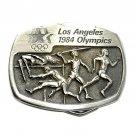 Athletics Los Angeles 1984 Olympics Sanchez Pewter Belt Buckle