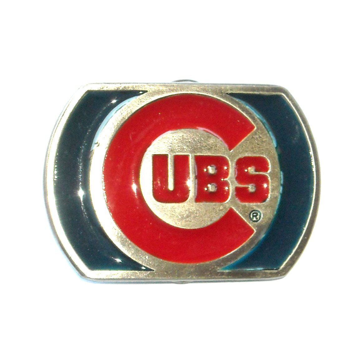 Chicago Cubs Vintage Great American Pewter NOS Belt Buckle