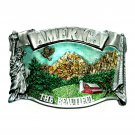 America The Beautiful Bergamot Color Belt Buckle