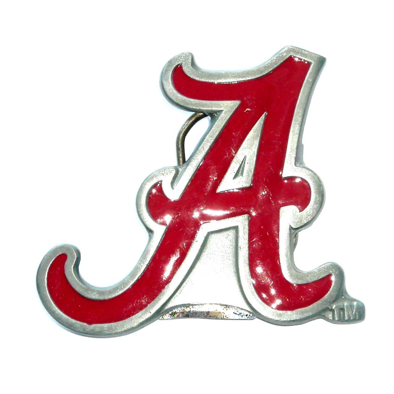 University Of Alabama GAP Pewter Belt Buckle