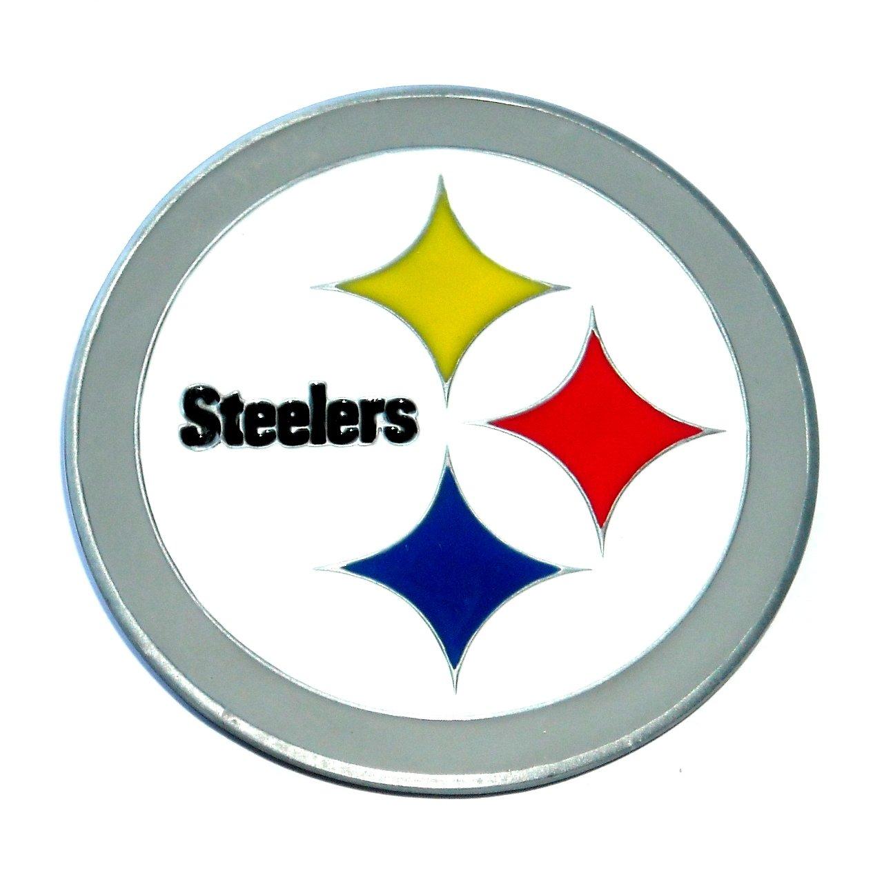 Pittsburgh Steelers Football GAP Pewter Belt Buckle