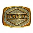 Hensley Industries BTS Brass Vintage Belt Buckle