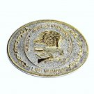 North American Hunting Club NAHC Eagle Belt Buckle