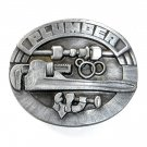 Plumber 3D Siskiyou Pewter Belt Buckle