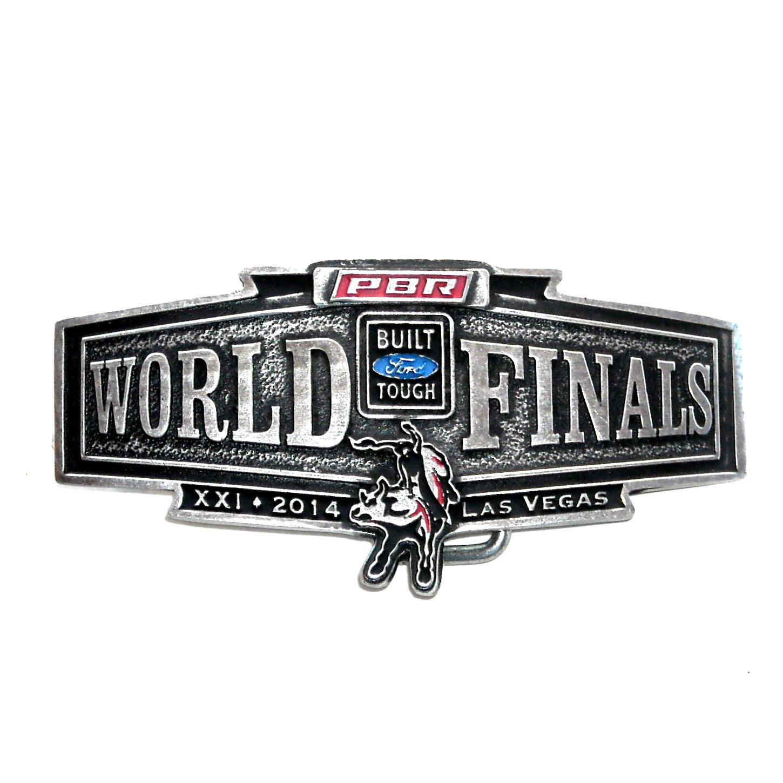 World Finals PBR 2014 Las Vegas Montana Silversmiths Belt Buckle