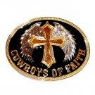 Cowboys of Faith Montana Silversmiths Western Belt Buckle