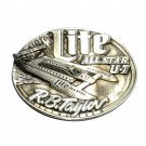 All Star Boat Racing Taylor Lite Team Solid Pewter Belt Buckle