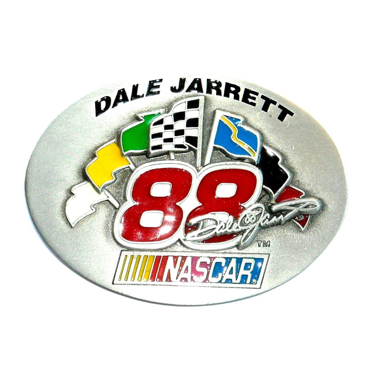 Nascar Dale Jarrett 88 Ford Great American Products Belt Buckle
