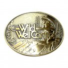 Wild Well Control Texas Limited Edition Solid Brass Belt Buckle