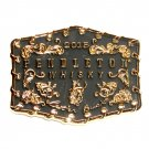 2015 Pendleton Cowboy Round Up Rodeo Montana Silversmiths Belt Buckle