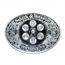 Smith & Wesson Pewter Color American Belt Buckle