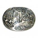 Relentless Quest Tim Thompson Award Design Solid Brass Belt Buckle