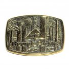 Georgia Pacific GP 1991 BTS Solid Brass Belt Buckle