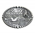 Hesston 2008 Wrangler NFR Rodeo SMALL Montana Silversmiths Belt Buckle