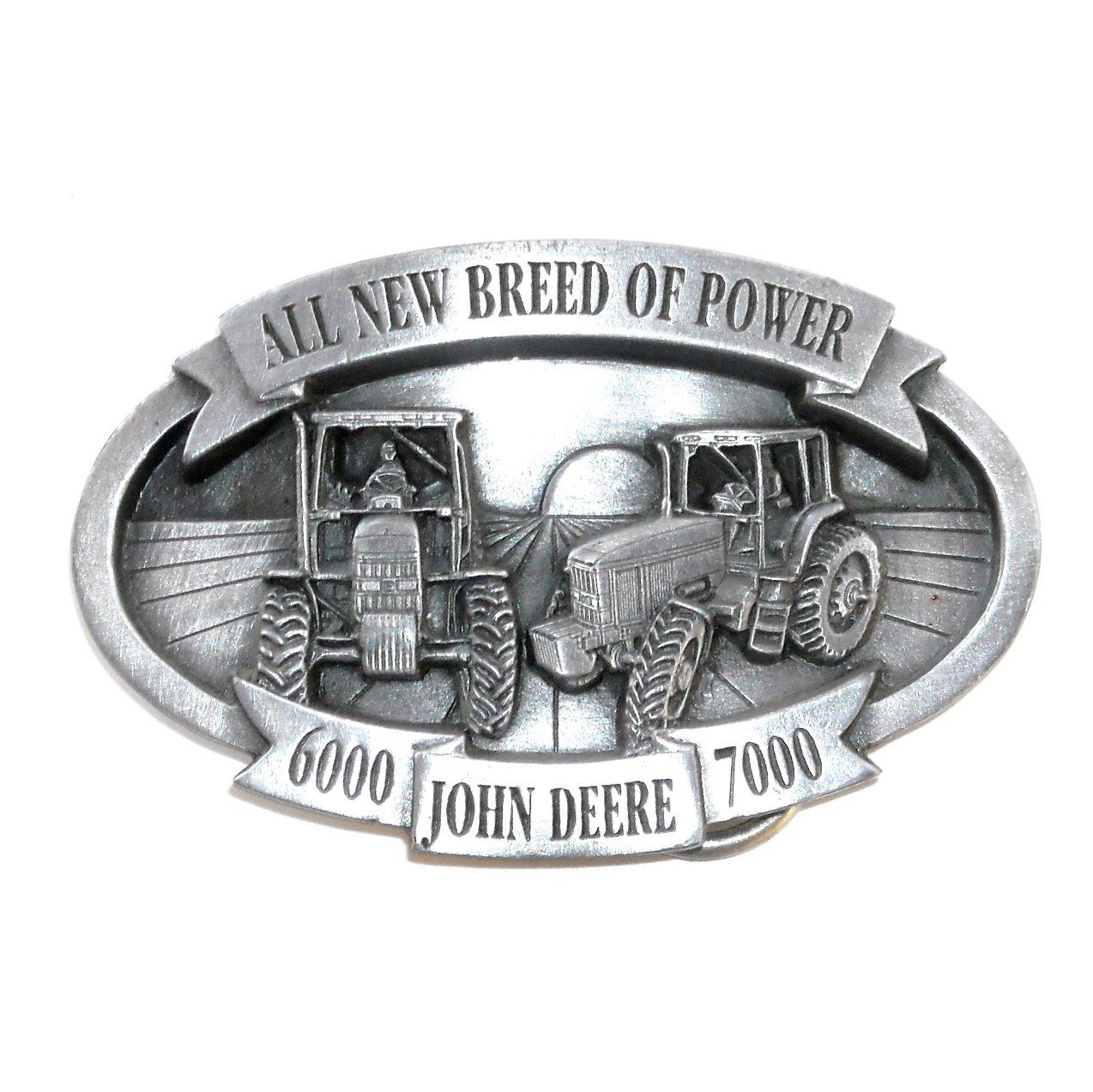 John Deere All New Breed Of Power Belt Buckle