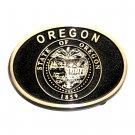 Oregon State Seal Belt Buckle
