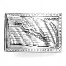 Dont Tread On Me Vintage Bergamot US Pewter Belt Buckle
