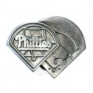Phillies Philadelphia Baseball 1995 Great American Pewter Belt Buckle