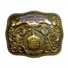 Crown Royal Canadian Whisky 2007 Brass Belt Buckle